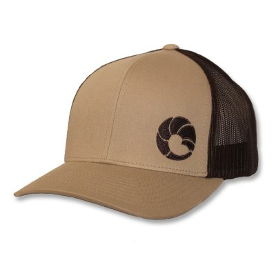 Full-Curl-Brand-Khaki-Brown-Trucker-Hat